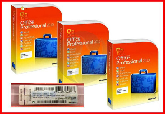Microsoft Office 2010 Retail Box