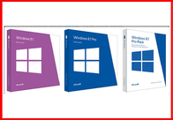 China Full Version 32 Bit / 64 Bit English Windows 8.1 Pro Retail Box Brand new company