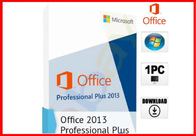 China Microsoft Office 2013 Professional 32/64-bit DVD and Key NEW SEALED 100% working office 2013 pro plus license factory