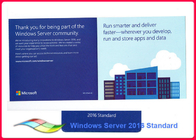China Genuine Windows Server 2016 Standard 64bit Operating Systems 100% Activate Online Lifetime Warranty company