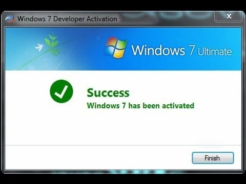 Windows 7 ultimate fully activated genuine x86 x64 activation code