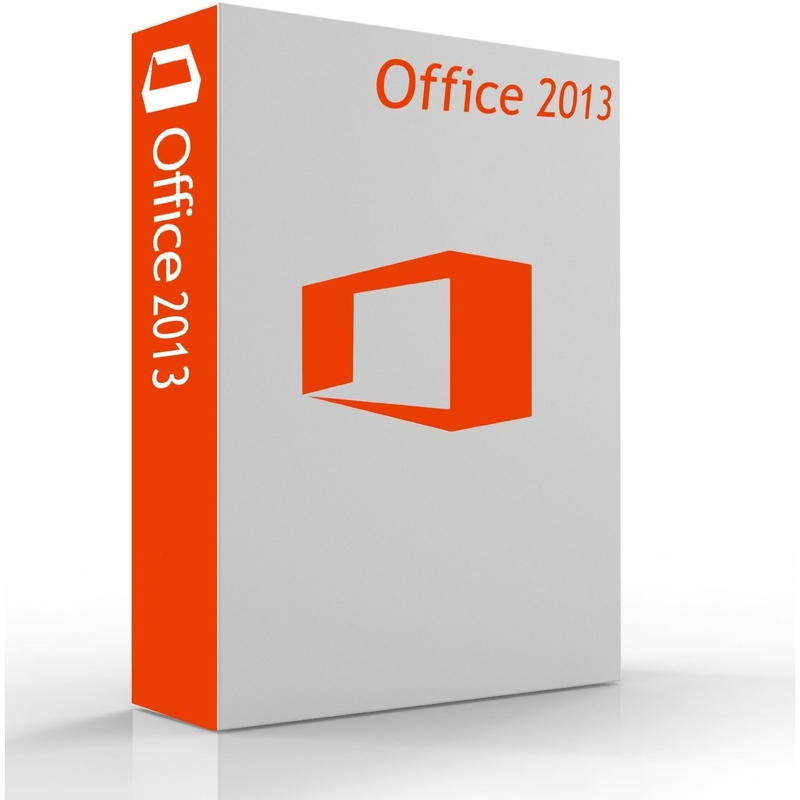 home and student microsoft office 2013 retail box / latest window