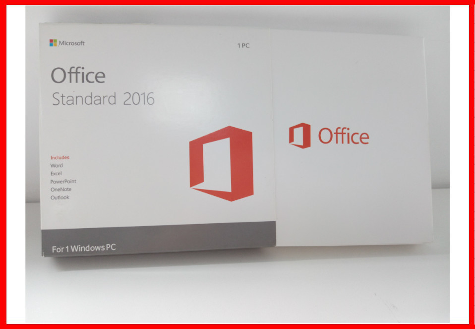 Genuine Microsoft Office 2016 Professional Retail Box Office 2016 Standard Dvd Retail Actiavted