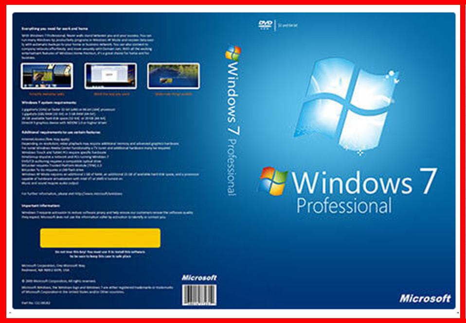 english version 32bit 64 bit windows 7 professional dvd with oem key licence. Black Bedroom Furniture Sets. Home Design Ideas