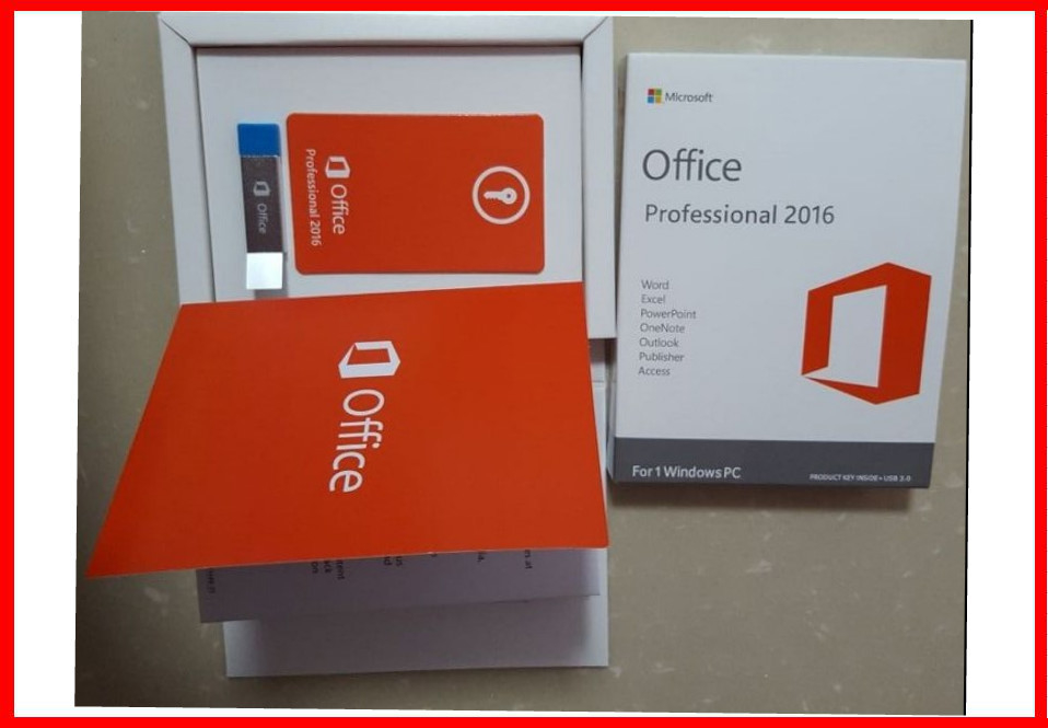 Microsoft office 2016 professional Retail 3.0 usb flash activation 100% working for lifetime