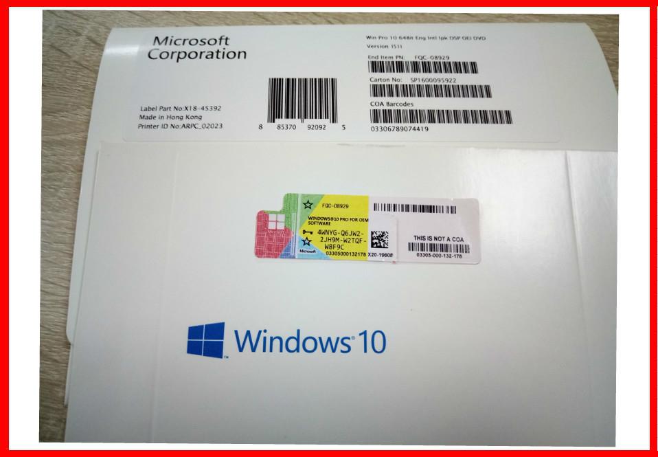 Windows 10 professional 64 bit dvd win10 pro activate online made in windows 10 professional 64 bit dvd win10 pro activate online made in hongkong fqc 08929 ccuart Images