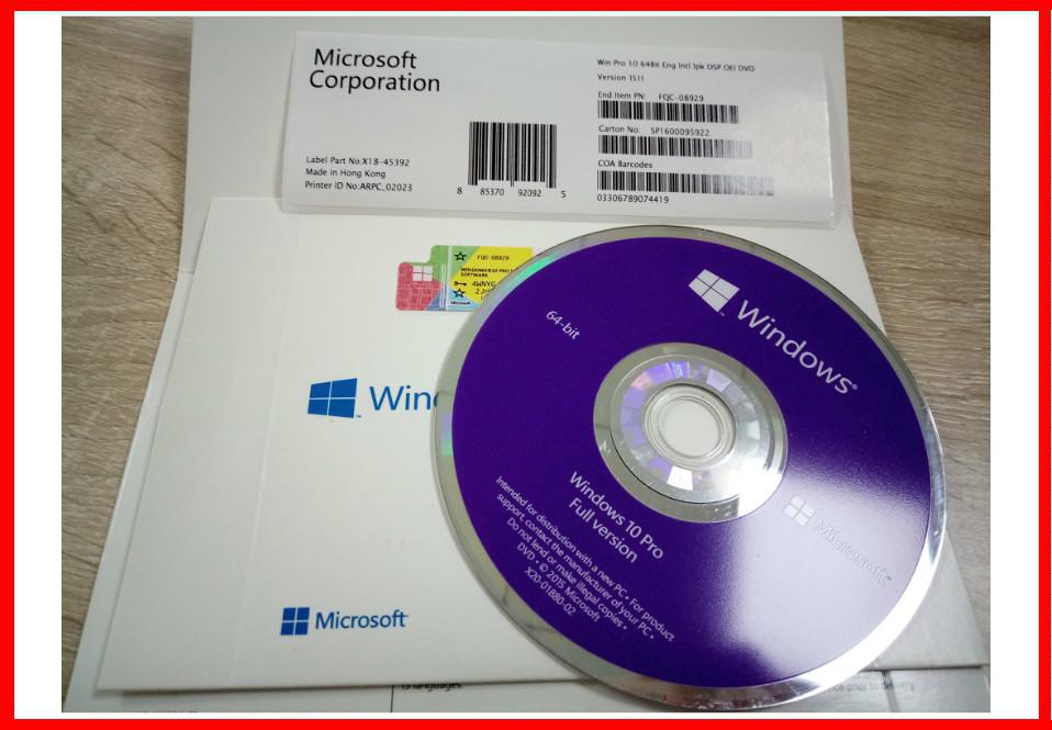 Microsoft Windows 10 Product Key Code Windows 10 License COA Sticker Win 10 Home / Pro