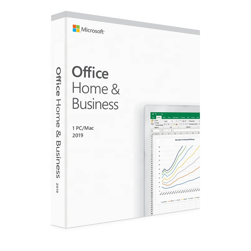 Genuine Office 2019 Home And Business For PC / MAC Key Code Retail