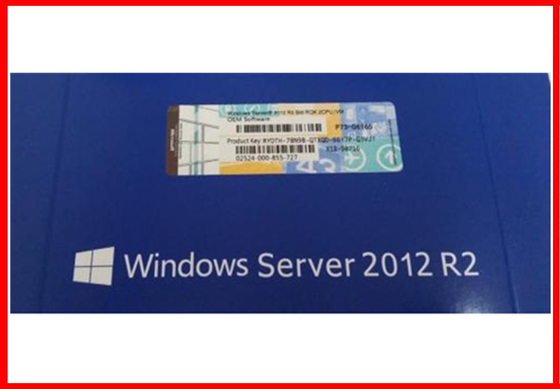 English versions Original windows server 2012 r2 64Bit  DVD with 5 CLTs Activation Online