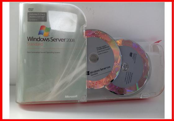 Windows Server 2008 standard 100% activation 5 Cals for sever software