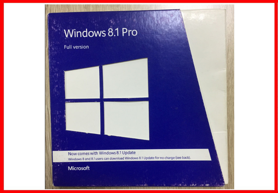 Genuine Microsoft Windows 8.1 Pro Retail Box with Factory Sealed 100% online activation
