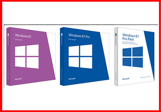 Full Version 32 Bit / 64 Bit English Windows 8.1 Pro Retail Box Brand new