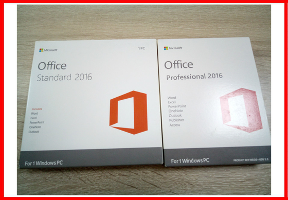 Microsoft Office 2016 Professional Retail Geniune Product Key Activation Online