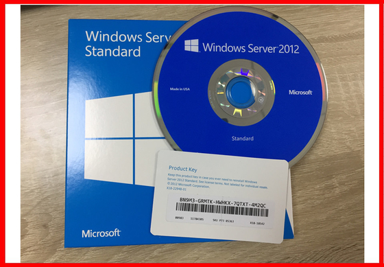 Windows server 2012 standard Retail Pack 5 Clients original 100% can be activated