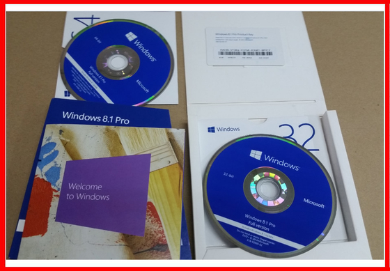 Microsoft  Windows 8.1 Product Key Code 32 bit 64 Bit English Retailbox  OEM license activated online