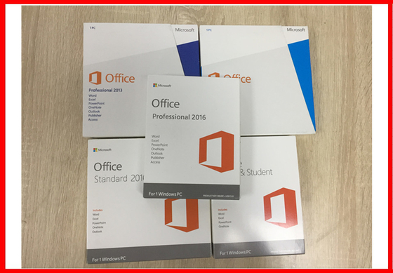 Microsoft Office 2013 Professional Plus Genuine Retail License DVD activation english version