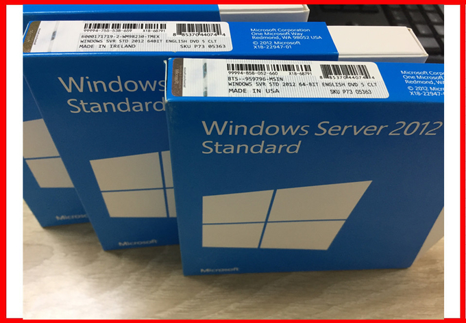 Full Version Windows Server 2012 standard 5 cals 64bit OEM Key License