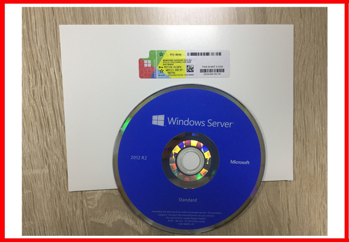 2CPU / 2VM Windows Server 2012 R2 Standard  100 % Activation Microsoft